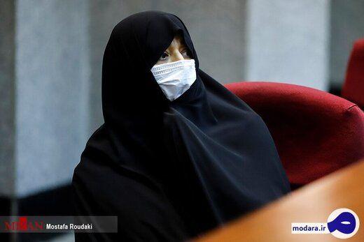 زنی که در دادگاه محمد امامی حضور داشت که بود؟ + عکس