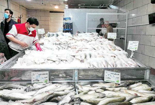 بازار ماهی شب عید