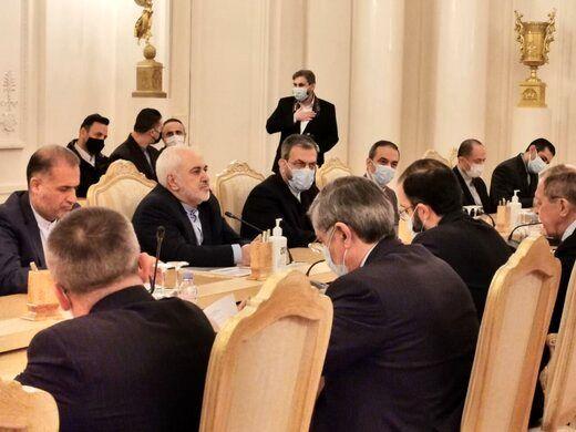 رایزنی ظریف با همتای روسی از بحران قرهباغ تا برجام