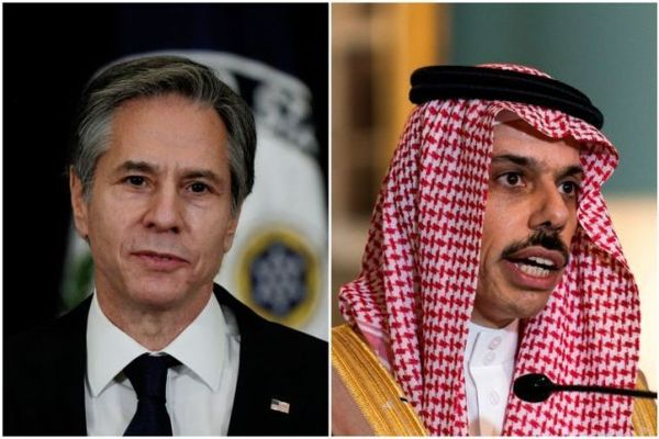 وزرای خارجه آمریکا و عربستان درباره چه گفتگو کردند؟