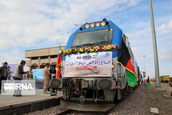 بازتاب رسانهای افتتاح راهآهن خواف – هرات