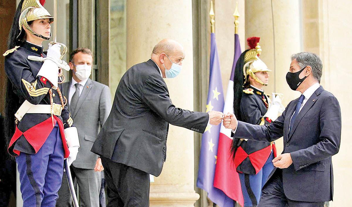 ائتلاف آمریکایی- فرانسوی علیه چین