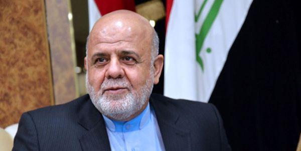 سفیر ایران در بغداد: پرونده شهادت سردار سلیمانی و ابومهدی در جریان است