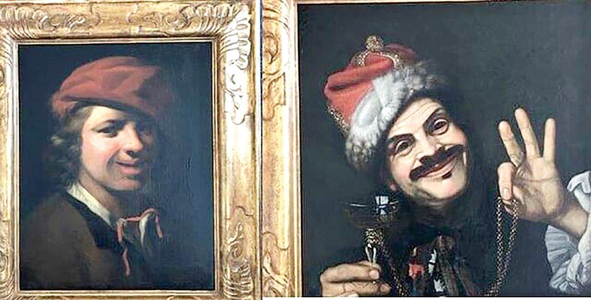 پیدا شدن دو نقاشی ارزشمند در سطل زباله