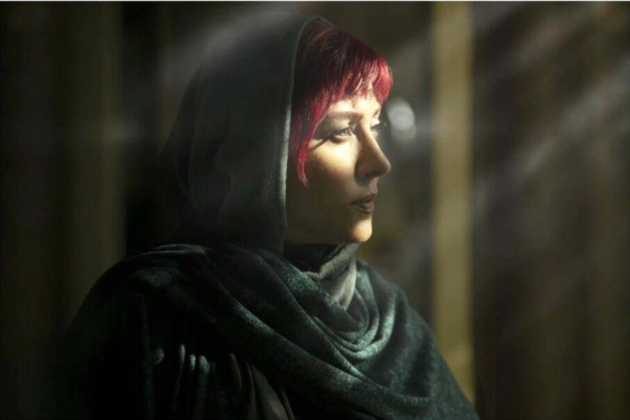 چهره مهتاب کرامتی در سریال «میدان سرخ»/ عکس