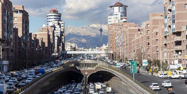 هوای تهران در مرز پاکی