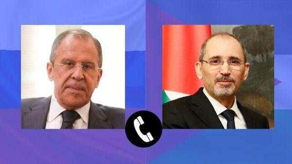 رایزنی وزرای خارجه اردن و روسیه با محوریت قره باغ
