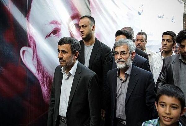 احمدی نژاد با کاندیدای اجاره ای در انتخابات 1400