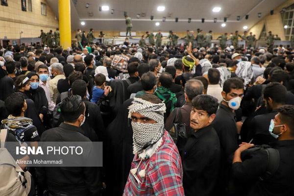 بازدید قاضیزادههاشمی از پایانه مرزی شلمچه