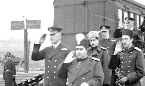 سفر احمدشاه به انگلیس و سوروسات قرارداد 1919
