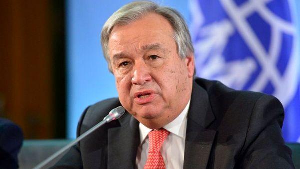 ابقاء گوترش در سمت دبیرکل سازمان ملل