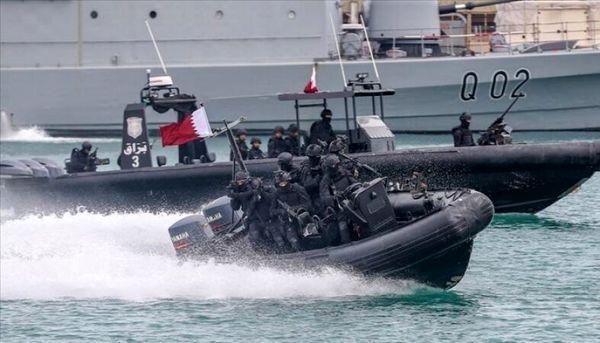 رزمایش مشترک پاکستان و قطر در خلیج فارس