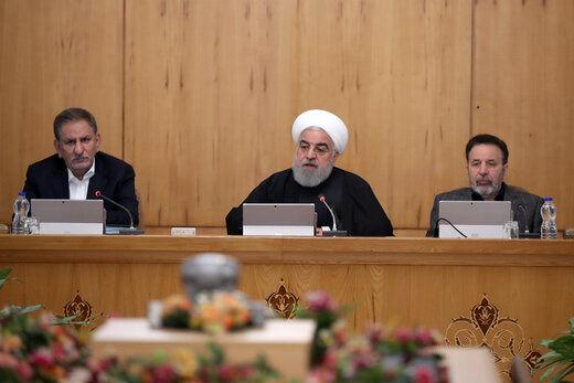 روحانی: رضایت یک جناح و یک قوم در انتخابات ما را به جایی نمیرساند/ کسانی که در کاخ سفید نشستهاند نمیتوانند برای ما تصمیم بگیرند