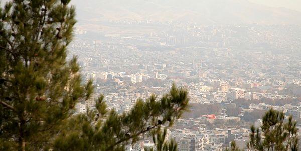 هوای تهران روی مرز آلودگی
