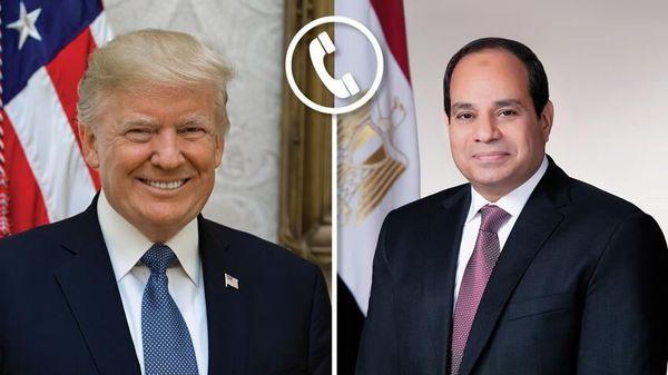 گفتوگوی ترامپ و السیسی درباره تحولات منطقه
