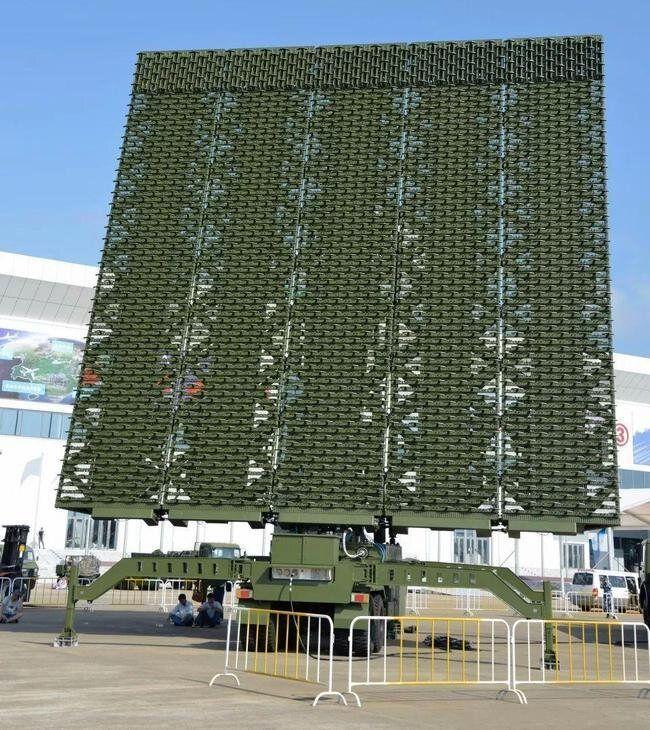 چین از پیشرفتهترین سیستمهای راداری رونمایی کرد/عکس
