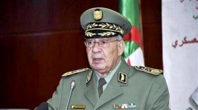 رئیس ستاد ارتش الجزایر درگذشت