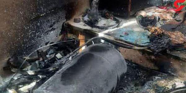 انفجار در منطقه فرودگاه زنجان