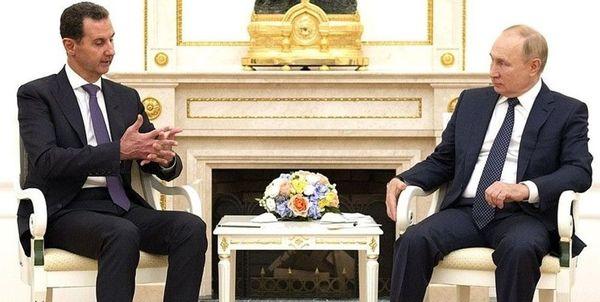 جزئیات دیدار اسد و پوتین