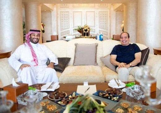 جزئیات جدیدی از  دیدار بن سلمان و السیسی فاش شد