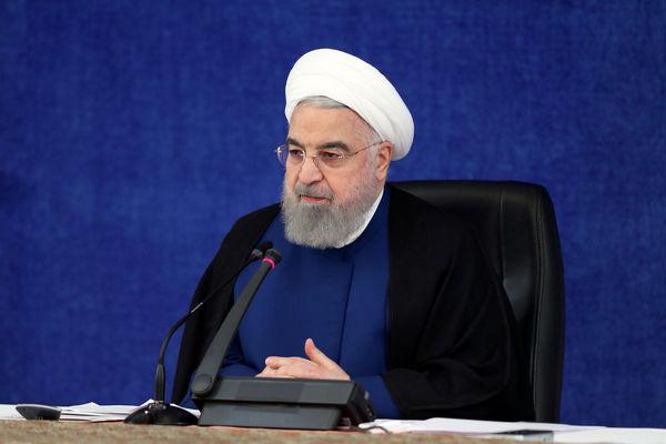 روحانی: در سخت ترین شرایط یک قرن گذشته مسئولیت دولت بر دوش ما بود/ 1