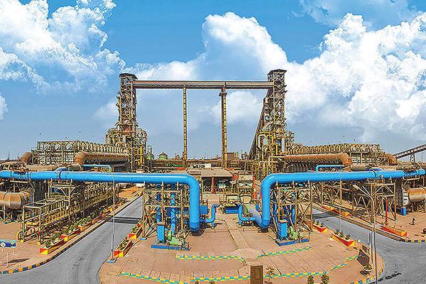10 هزار تن تولید در فولاد کاوه جنوب کیش