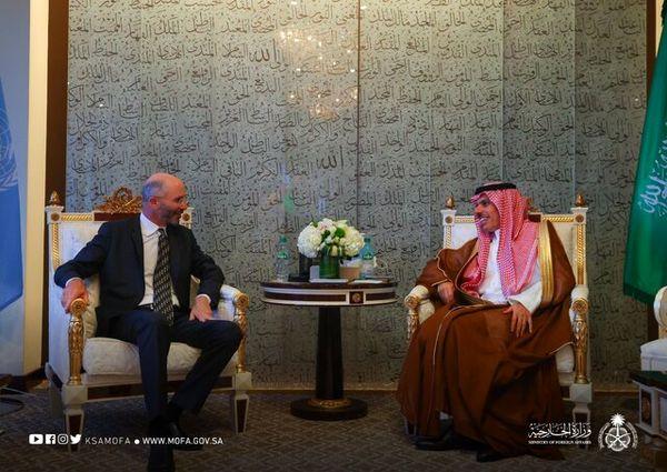 ملاقات وزیر خارجه عربستان با نماینده آمریکا در امور ایران