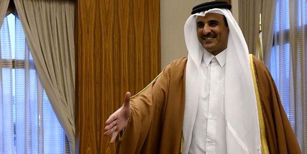 پیام مکتوب امیر کویت به همتای قطری