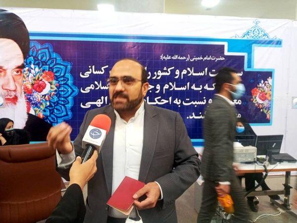 وهاب عزیزی برای انتخابات 1400 ثبتنام کرد