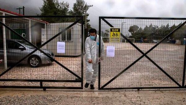 جانباختن اولین پناهجو در یونان به دلیل کرونا