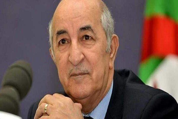 اظهارات رئیس جمهور الجزایر پس از ابتلا به کرونا