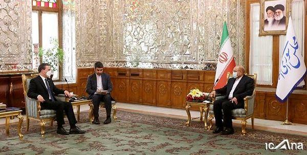تاکید قالیباف بر تعمیق همکاری های ایران و صربستان