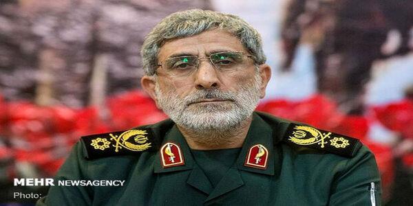 پیام سردار قاآنی به فرمانده کل ارتش