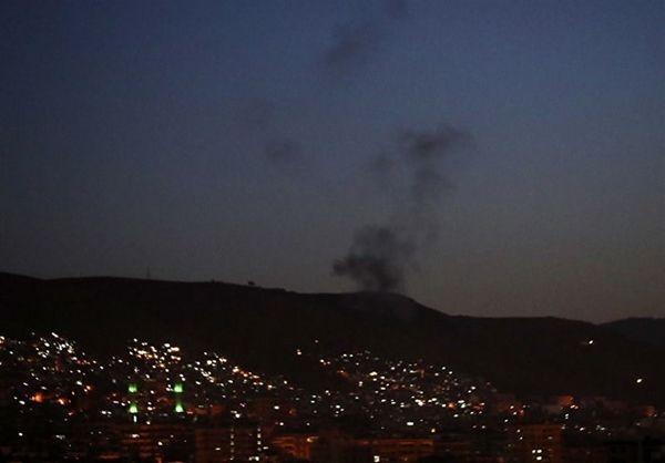 وقوع انفجاری مهیب در جنوب سوریه