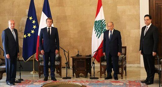 سفر مکرون به لبنان لغو شد
