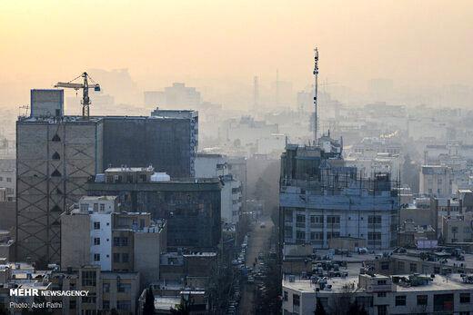 هوای این شش شهر ناسالم است