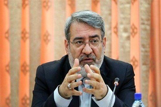 وزیر کشور به روحانی نامه نوشت