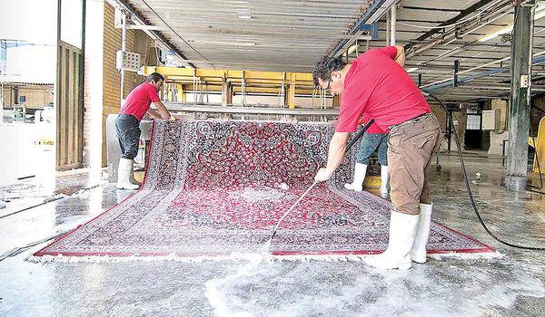 کاهش 70 درصدی سفارش قالیشویی