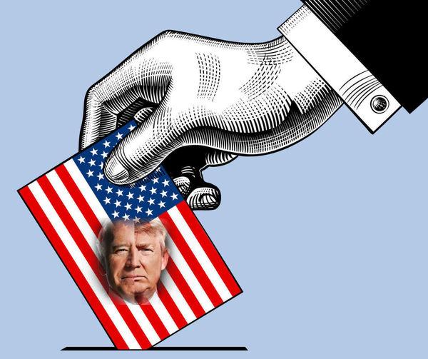 فاصله آرای ترامپ و بایدن در دو ایالت چقدر شد؟