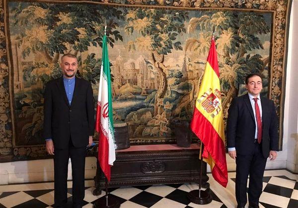جزئیات دیدار امیرعبداللهیان با همتای اسپانیایی