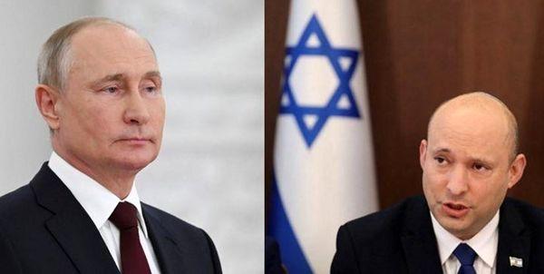 دیدار نخستوزیر اسرائیل با پوتین برای رایزنی علیه ایران