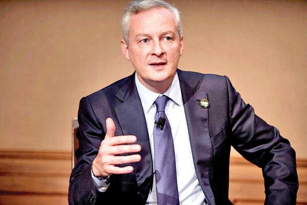 رونمایی وزیر دارایی فرانسه از اختلافات در دو سوی آتلانتیک