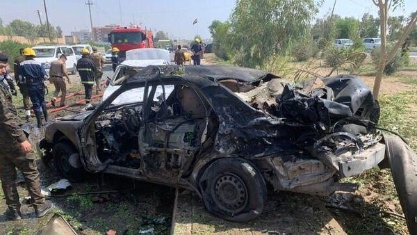 انفجار خودروی بمبگذاری شده در غرب عراق