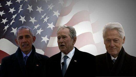 پیام روسای جمهور قبلی آمریکا به بایدن