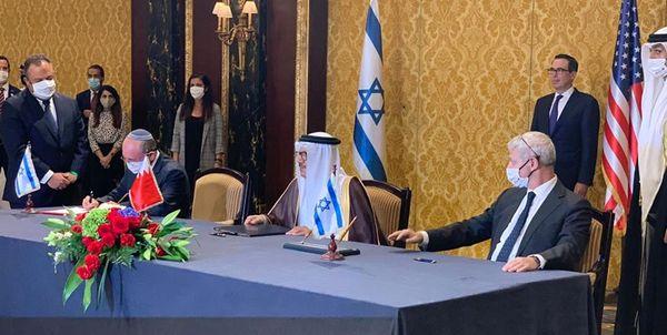 بحرین و اسرائیل تفاهم سازش امضا کردند