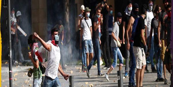 معترضان لبنانی یک نیروی پلیس را در آسانسور کشتند+عکس