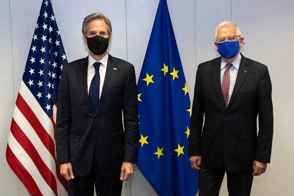 رایزنی وزیر خارجه آمریکا و جوزف بورل درباره ایران