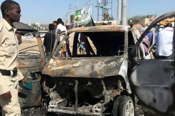انفجار بمب در سومالی