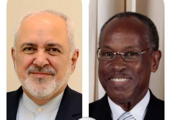 قدردانی ظریف از وزیر خارجه سنت وینسنت