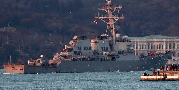 آمریکا اعزام ناو جنگی به دریای سیاه را بررسی میکند